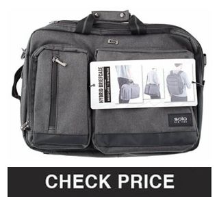 Solo Duane Hybrid Briefcase Backpack