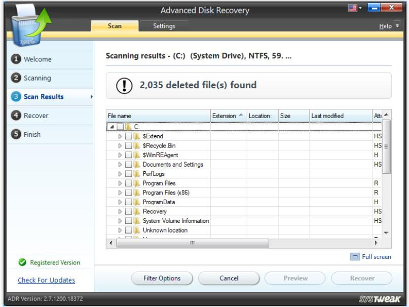 Install Advanced Disk Recovery 04