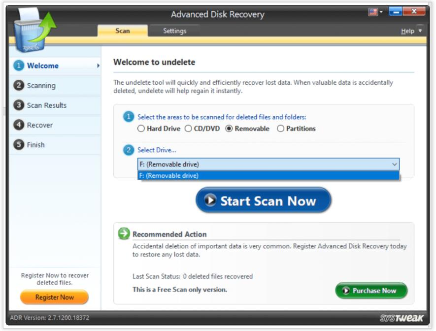 Install Advanced Disk Recovery
