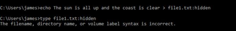 type file1.txt:hidden