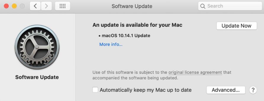 Check the software installed on your MacBook Pro