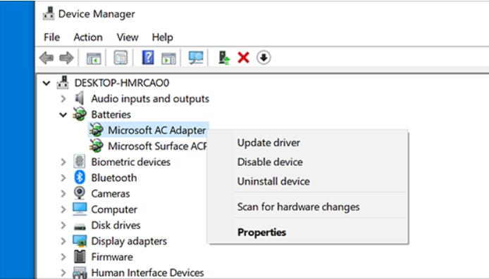 Update or Reinstall the Disk Driver