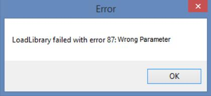 loadlibrary-failed-with-error-87